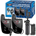 Vidpro XM-W5 Professional UHF Wireless Lavalier Microphone System for Smart Phones/Cameras/DSLRs and Computers