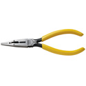 Klein Tools VDV026-049 Connector Crimping Long-Nose Pliers