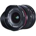 Laowa VE7520MFTLWBLK 7.5mm f/2 MFT Lens - Lightweight / Black