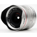 Laowa VE7520MFTLWSIL 7.5mm f/2 MFT Lens - Lightweight / Silver