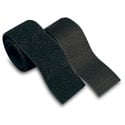 VELCRO® Brand 90209 Sticky Back Industrial Strength Fastener 4-Inch x 2-Inch Strips 4 Sets of Black