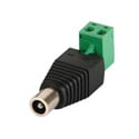 DC Plug 5.5x2.5mm Female to Screw Terminal
