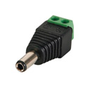 DC Plug 5.5x2.5mm Male to Screw Terminal