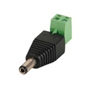 DC Plug 5.5x2.1mm Male to Screw Terminal