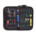 Velleman VTSET25U 11 Piece On The Go Tool Kit with Soldering Iron