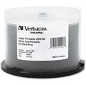 Verbatim 94917 DVD+R 4.7GB 16X DataLifePlus Discs - White Inkjet Printable/Hub Printable - 50/Pack Spindle