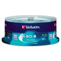 Verbatim 97457 Blu-ray Recordable BD-R 6x Disc - 25GB - 120mm Standard - 25 Pack