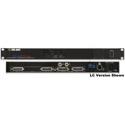 Fiberplex VIM-0808-S-ST 8x8 Digital/Analog Line Level Input (Tail)