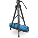 Vinten Vision 8AS FT MS - Vision 8AS (V4045-0001) Flowtech 100 MS Tripod (V4160-0003) & Soft Case (3358-3)