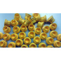 Canare VJDC Video Patch Dust Caps - Each - Yellow