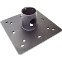 VMP CP1PT 1.5 Inch Pipe Ceiling Plate with Cable Pass-Through