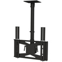 VMP LCD-MID-CB 27-42 Inch Flat Panel Ceiling Mount - Black