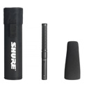 Shure VP89S Short Condenser Shotgun Mic w/Case & Foam Windscreen