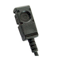 Voice Technologies VT500 Omni Miniature Lavalier Microphone w/TA4F for Shure & Sabine Wireless - Black