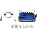 Voice Technologies VT500 Mic with Lemo 3-pin for Sennheiser SK50 2000 Series Audio Ltd miniTX and 1010 Digital - White