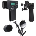 Varizoom VZ-EFZ-PGF Pistol Grip Zoom and Electronic Focus Kit for Fujinon 8pin Lenses - VZPGF / VZEFC2