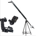 Varizoom VZQJ2K-CPJ QuickJig Camera Crane Kit With CinemaProJR-K4 remote head