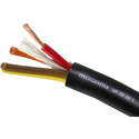 Mogami W2921 4 Cond 13ga Speaker Cable Black 500ft