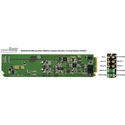 Ward-Beck D6203A/75-RM Analog-to-AES/EBU Digital Audio Converter plus T6302A Rear Module for 75 Ohm - OpenGear Series