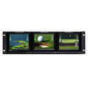 Ward-Beck VMS560-3HD Triple 5.6 Inch LCD Video Monitoring System