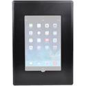 FSR WE-FMIPDMINI-BLK iPad Mini Flush Mount with Back Box and Cover - Black
