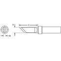 Weller ETKN .18 x .064 x .625 Inch ET Series Knife Tip for PES51 Pencil