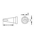 Weller LTKN .059in x .73in Reach Knife LT Series Tip