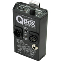 Whirlwind QBOX Audio Line Tester