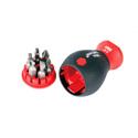 Wiha 38048 SoftFinish Stubby Bit Holder 7 Piece Screwdriver Set