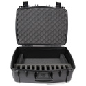 Williams AV CCS Large Water Resistant Carry Case w/ 11 Slot Foam Insert for Digi-Wave Transceivers & Receivers