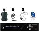 WILLIAMS AV FM 557 Plus Large-area Dual FM and Wi-Fi Assistive Listening System with 4 FM R37 Receivers