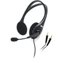 WILLIAMS AV MIC 045 Dual Noise-Cancelling Headset Mic with 2x 3.5mm Plugs