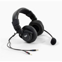 WILLIAMS AV MIC 058 Dual-Muff Headset Microphone - Dual 3.5 Mini Plugs
