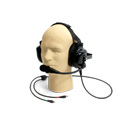 WILLIAMS AV MIC 088 Dual-Muff Hardhat Headset Microphone with Dual 3.5MM Plugs
