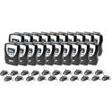 WILLIAMS AV PPA R38-20 FM Receiver Kit - Includes (20) PPA R38N FM Receivers (20) EAR 022 Surround Earphones & Batteries