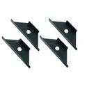 Middle Atlantic WMRK-Z4 Seismic Floor Anchor Brackets for WMRK