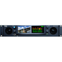 Wohler iAM-12G-SDI 2 RU Audio/Video Monitoring and Metering with 2x 12G SDI on BNC and Loudness/Phase Monitoring