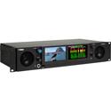Wohler iVAM2-2 2RU Dual Screen - 16 Channel Dual Input - 3G/HD/SD-SDI - Audio & Video Monitor with Touch Screen Control