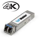 Wohler SFP-12G-SDI Fiber 12G 3G/HD/SD-SDI Single Mode Optical LC (Fiber) Video Receiver - HD-BNC Connectors
