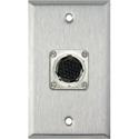 My Custom Shop WPL-1135 1-Gang Stainless Steel Wall Plate w/ EIAJ 26-Pin Female Connector