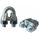 Fehr Brothers WRCG250X100 1/4 Malleable Wire Rope Clip - 100 Pack