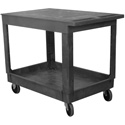 Wesco 270493 Flat Top Plastic Production Cart