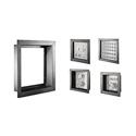 Whirlwind ASE12x12x4 NEMA Gray Electrical Backbox For Flush Mount Frames