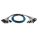Whirlwind MT32FM25SSH 32x32 Analog Fan Snake - 50 Foot