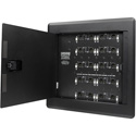 Whirlwind PRESS WALL Active Wall Mount with 14 Mic/Line Outputs