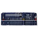 Xcelite 99SM 23pc Screwdriver/Nutdriver Roll Up Tool Kit