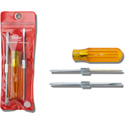 Xcelite CK20 Screwdriver Tool Set - Rev Blades and Handle - Zip Case