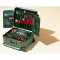Xcelite TCMB100STWN 86-Piece Service Technician Tool Set with Roller Bearing Case