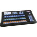 X-Keys XK-1457-128VS-BU XKE-128 Keyboard Bundled with Video Switcher Key Set