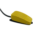 X-keys XK-A-1244-SKC1YL-R Commercial Foot KVM Switch for  X-keys USB 12 Switch Interface/USB3 Switch Interface - Yellow